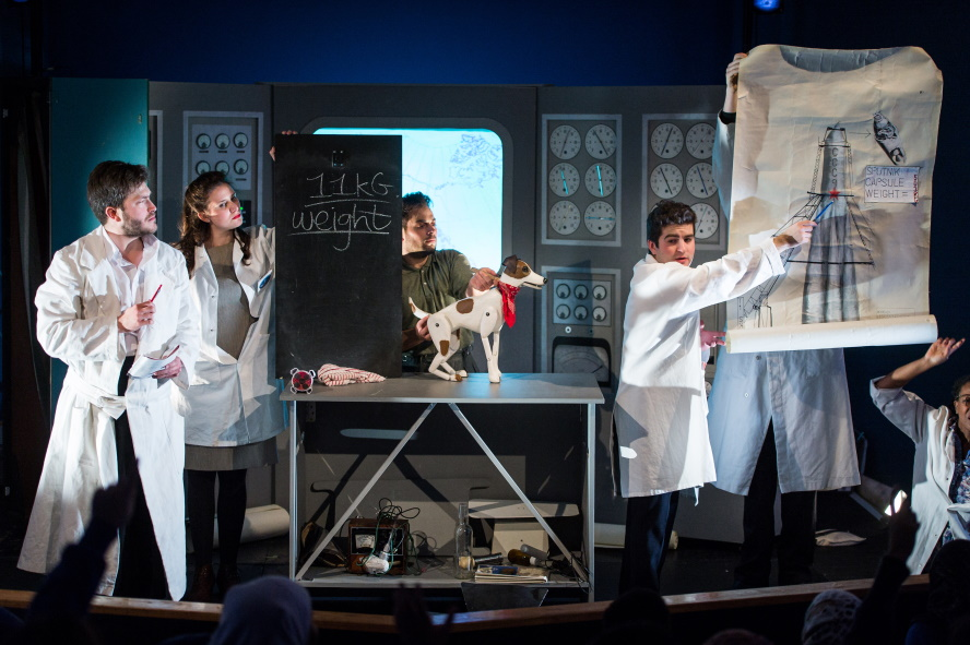 The English Touring Opera perform an opera to young people based on Laike, the first dog in space.